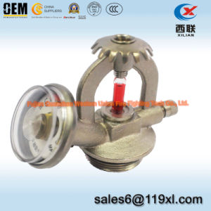 Glass Bulb Fire Sprinkler, Fusible Alloy Fire Sprinkler pictures & photos
