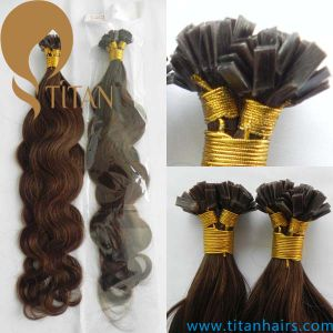 Brazilian Human Remy Hair Keratin Flat Tip Hair Extension (TT430) pictures & photos