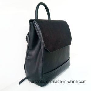 Brand Designer Fashion Women PU Plush Backpack (NMDK-040605) pictures & photos