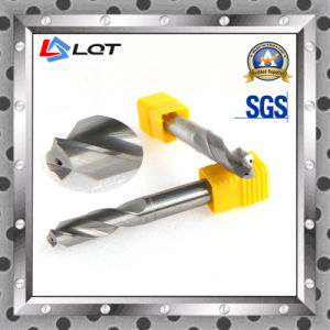 HRC55 Tungsten Solid Internal Coolant Hole Drill Bit pictures & photos