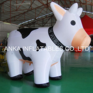Guangzhou Supplier Inflatable Black and White Milk Cow pictures & photos