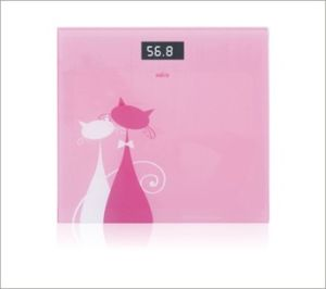 Weight Scale 3-180kg Tempered Glass Square Type pictures & photos