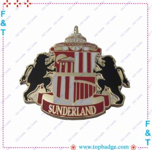 Customized Hot Sales Enamel Pin Badges for Gift pictures & photos