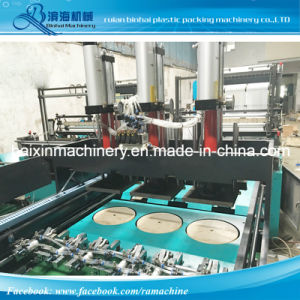 Export to Indonesia 6 Lines Puncher Plastic Bag Making Machine pictures & photos