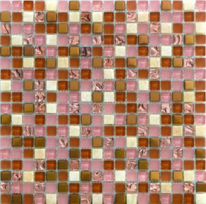 Swimming Pool Gold Color Glass Mosaic Tile in Foshan (AJ2A1613) pictures & photos