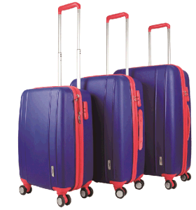 PP Zipper Style Hard Shell Suitcase Trolley Case pictures & photos