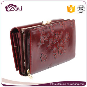 Factory Wholesale 2017 Latest Women Purse Wallet pictures & photos