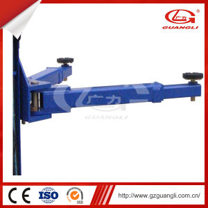 Professional Factory Supply Ce Approved 3.2 Ton Double Hydraulic 2 Post Mobile Car Lift pictures & photos