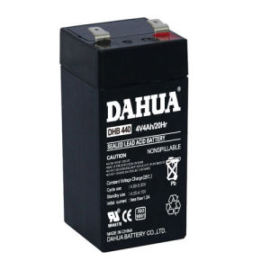 4V 4ah VRLA Sealed Lead Acid Maintenance Free UPS Battery pictures & photos