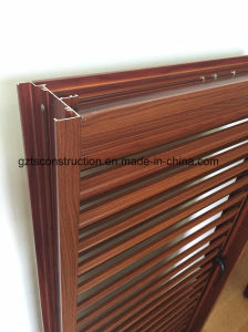 Aluminium Casement Window with Fixed Ventilated Louver pictures & photos