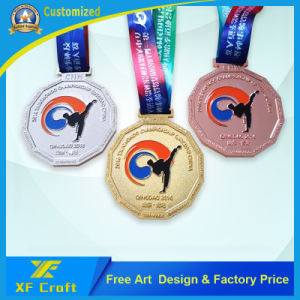 Professional Customized Sports Activity Souvenir Gold Medal for Winner (XF-MD18) pictures & photos