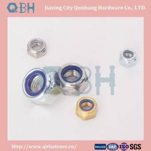 Hex Nylon Lock Nuts (DIN985/ DIN982 M22-M48) pictures & photos
