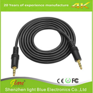 6FT Trrs Male to Male 3.5mm Audio Cable pictures & photos