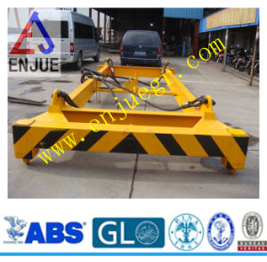 20feet 40feet Semi Automatic Container Lifting Fram Hydraulic Container Crane Manual Container Spreader Container Lifter Spreader pictures & photos