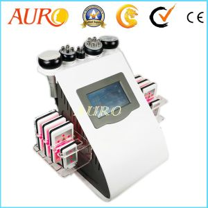 6 In1 Lipo Laser Ultrasonic Cavitation RF Slimming Machine pictures & photos