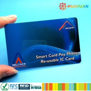 NDEF programme RFID contacless PVC NFC NTAG216 smart card pictures & photos