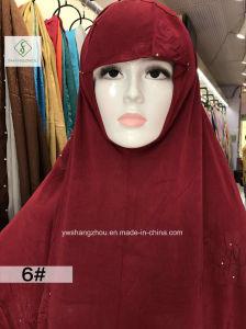 110cm*120cm Big Size 100% Polyester Fashion Moslem Plain Sleeve Cap pictures & photos