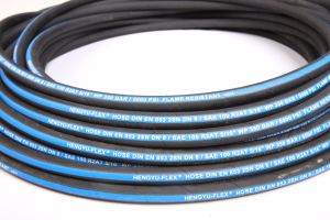 Good Reputation R2/2sn Hydraulic Hose with Fittings Wire Braid Hydraulic Hoses for Excavator pictures & photos