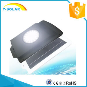 6W 108 LED Motion Sensor Integrated All in One Solar LED Street Light SL1-18-6W pictures & photos