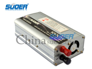 Suoer Factory Price 1000W  Power Inverters 12V to 220V Inverter (SAA-1000A) pictures & photos