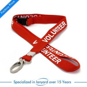 High Quality Printed Polyester Lanyard with Clasp pictures & photos