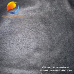 Top Selling Artificial Leather of Garment Fac25 pictures & photos