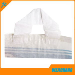 Color Printing PP Woven Sugar Bag with Handle pictures & photos