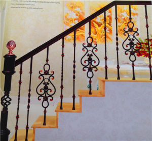 Elegant and Beautiful Wrought Iron Railings pictures & photos