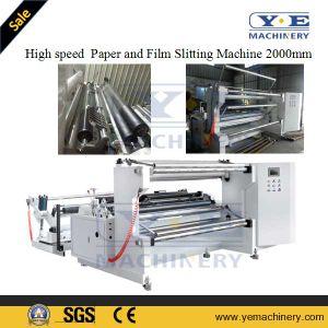 Automatic Kraft Paper Jumbo Roll Slitting Rewinding Machine 2000mm pictures & photos