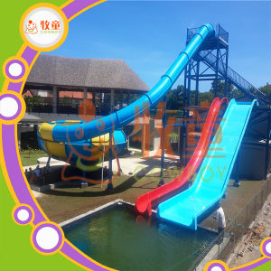 Amusement Park Fiberglass Water Slides Space Bowl Price pictures & photos