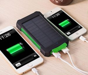 Waterproof Portable Charger Power Bank, Solar Power Bank Battery Solar Charger pictures & photos