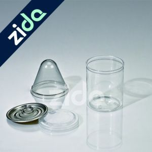 Transparent Pet Plastic Bottle with Aluminium Cap for Dried Fruit pictures & photos