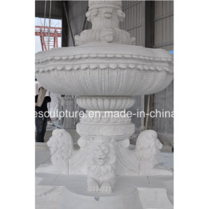 White Carrara Marble Water Fountain for Garden Decoration (SY-F301) pictures & photos