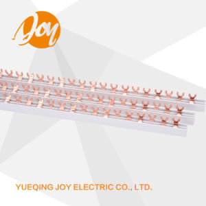 High Quality Pin/U Type Electrical Copper Busbar /Bus Bar pictures & photos