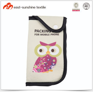 Cute Fashion Reusable Microfiber Cell Phone Pouch pictures & photos