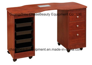 Nail Salon Cheap Manicure Table with Dust Collector for Wholesale pictures & photos