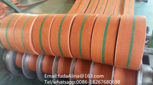 Flat Transmission Belt Orange Color pictures & photos