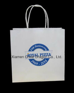 304*255*60mm Kraft Paper Bag for Packing Food (PB-002) pictures & photos