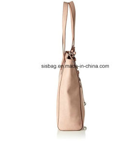 Hot Selling Plain Color PU Shoulder Bag Shopping Bag pictures & photos