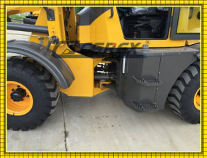 Articulated Compact Small Mini Wheeled/Track Skid Steer Dumper Loader, Backhoe, Front End Tractor Wheel Loader pictures & photos