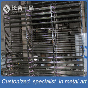 Factory Manufactory 304# Hairline Stainless Steel Display Rack for Suppermarket/Retailstore pictures & photos