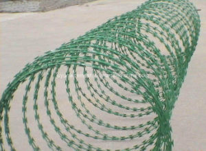 PVC Coated Concertina Razor Barbed Wire pictures & photos