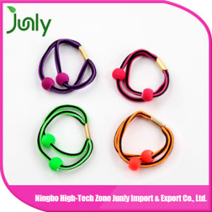 Wholesale Hair Accessories Women Hair Ties with Balls pictures & photos