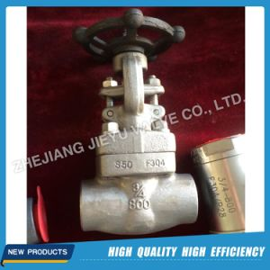 F316 Sw/NPT Gate Valve 150lb-800lb pictures & photos