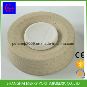 Eco-Friendly 350ml Rice Husks Hull Fiber Coffee Mug Cup with Silicone Lid pictures & photos