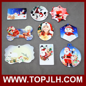 MDF Wooden Sublimation Christmas Tree Ornament pictures & photos