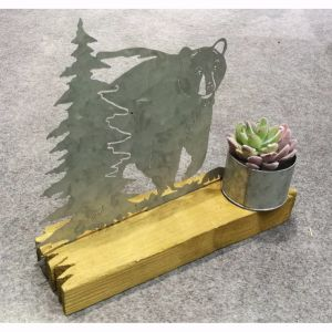 Wooden&Galvanized Home Table Decoration Home Decoration pictures & photos