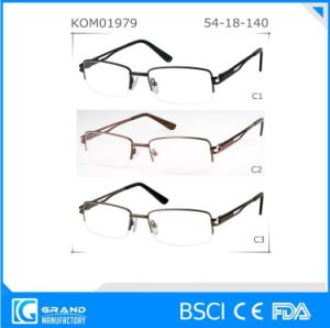2016 Hot Sale High Quality Wholesale Metal Half Reading Glasses Frame pictures & photos