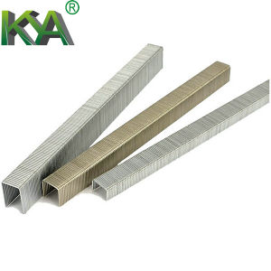 Galvanized Fine Wire Staples (FASCO 7C) for Industry and Furnituring pictures & photos