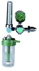 Flowmeter Oxygen Regulator with Humidifier and Mask, Cannula (4M2201) pictures & photos